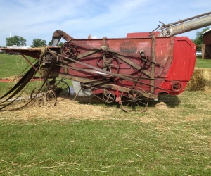 Frick Threshing Machine