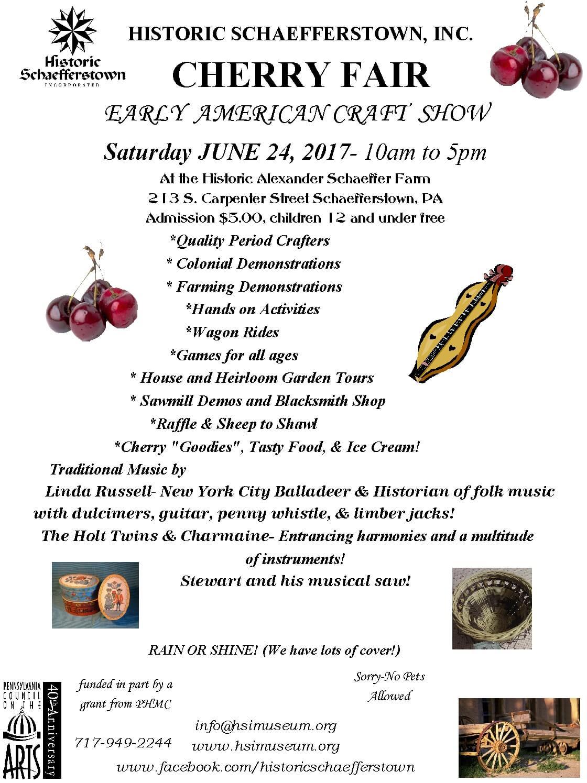 2017 Cherry Fair Poster